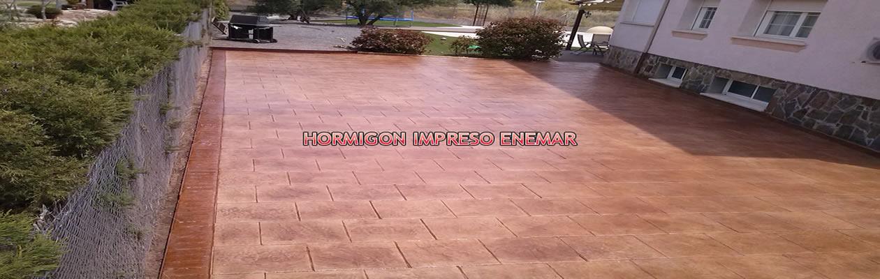 Hormigon impreso precios m2 foto de precios de hormign for Cemento impreso madrid